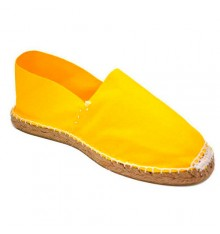 Alpargatas flat esparto Made in Spain in yellow