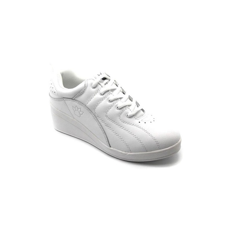 amazon comprar zapatillas de deporte color blanca de señora