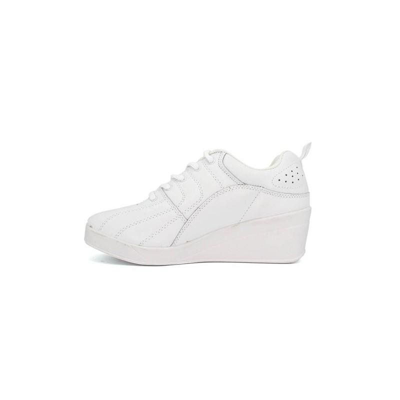 Zapatillas deporte con cuña Kelme en blanco talla 36 r5gdG2