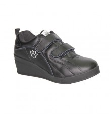 Sport shoes with velcro wedge Kelme in black