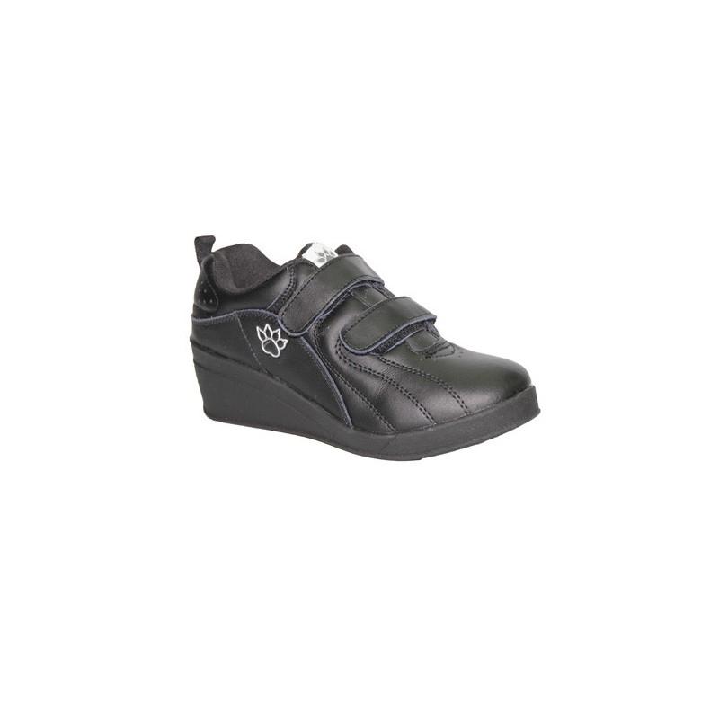 Cu Chaussures De Sport? Kelme Taille Velcro Noir 41 oexFH