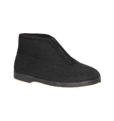 Zipper Boot cloth Soca in black