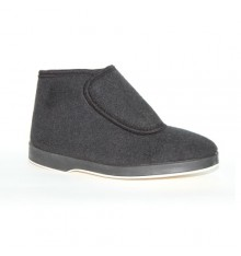 Bota cloth velcro Soca in black