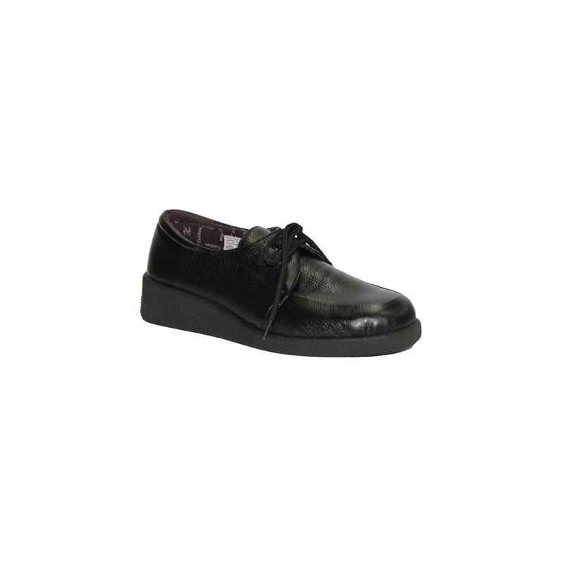 Zapato cordones pies muy delicados Doctor Cutillas en negro talla 36 03S1v3NdWg