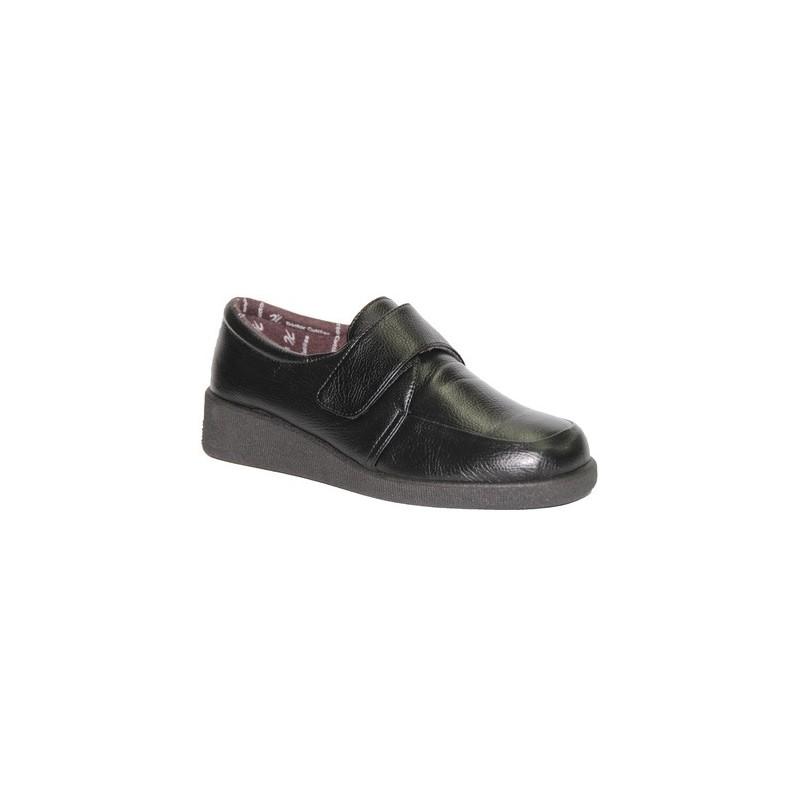 En Velcro Muy Delicado Zapato Pies Cutillas Doctor Negro v1Yqxvapnd