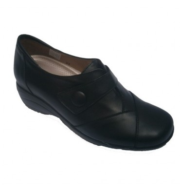 Special shoe insoles Pie Santo in black
