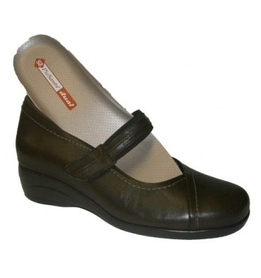 Special merceditas Shoe Template Pie Santo in brown
