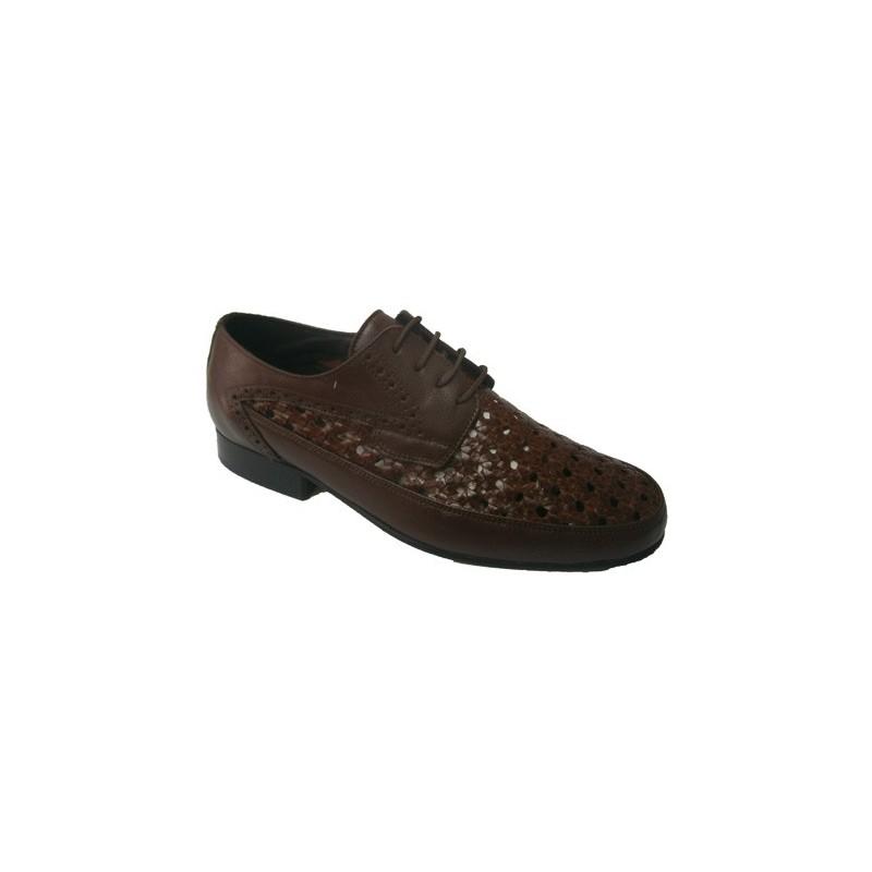 Zapato rejilla con cordon 30's en negro talla 38 qbt4JqMo