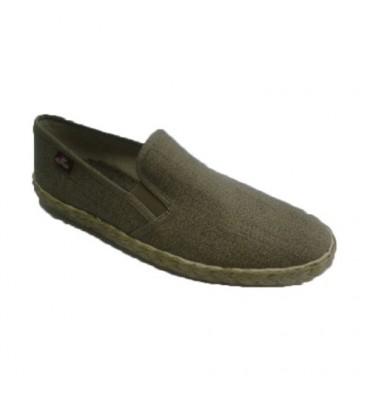 Zapatillas lona sin cordones Festival en beig