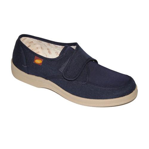 5c6e1833 comprar-Zapatillas-lona-velcro-para-pies-muy-delicados-Doctor-Cutillas-en- azul-marino-online.jpg