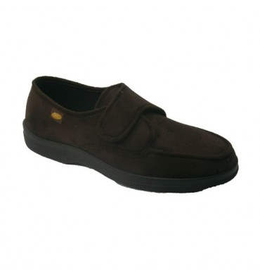 Sneaker velcro very delicate feet Doctor Cutillas in brown