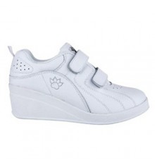 Sport shoes with velcro wedge Kelme in white