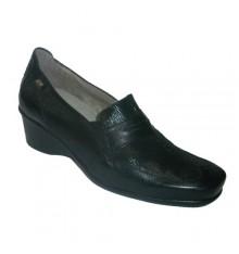 Antifatiga sapato especial com palmilha removível em preto Pepe Varo