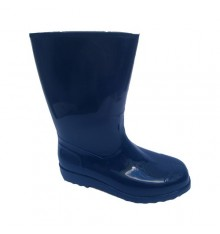 Wellies standard lady with thin soles Hobeky in navy blue