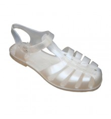 Lady Sandal River Hobeky in white