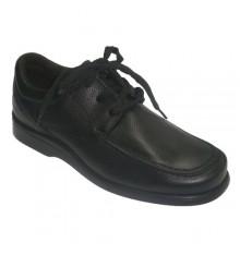 Zapato invierno suela de goma Clayan en negro