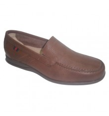 Rubber shoe sole summer Clayan in leather
