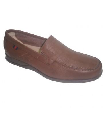 Zapato verano suela de goma Clayan en cuero