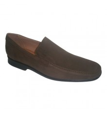 Shoe with rubber floor Pitillos in brown