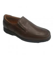 Winter shoe sole rubber Clayan in brown