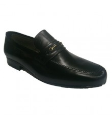 Classic shoe with braid detail at front 30´s in black