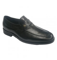 Extra wide shoe wear comfortable Clayan in black
