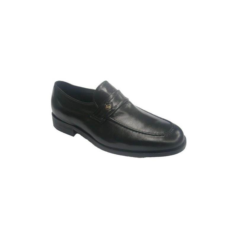 Zapatos cordones de ancho especial Clayan en negro talla 42 2Vjqs