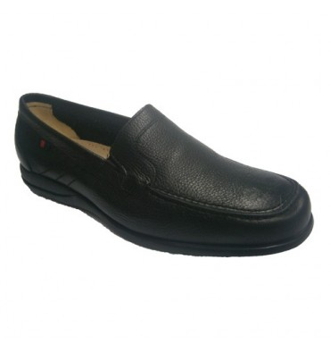 Rubber shoe sole summer Clayan in black