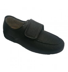 Leatherette shoe very comfortable Soca in black