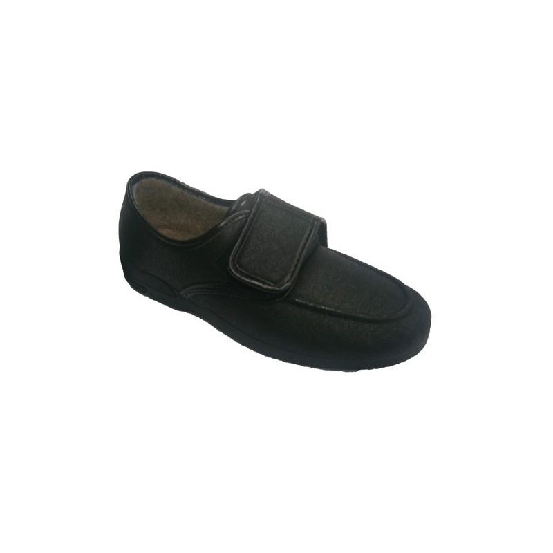Chaussure Soca Skaï Très Confortable En Noir Taille 40 Rcd2Z