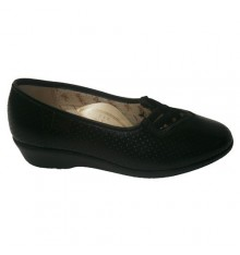 Shoe with rubber draft cross Doctor Cutillas in black