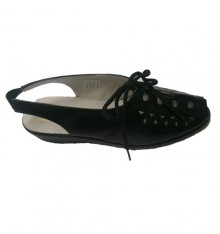 Laced Sandal Doctor Cutillas in black