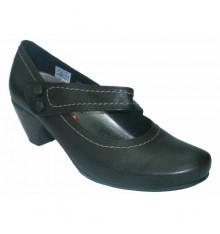 Shoe Buckle Pie Santo in brown