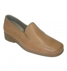 Wedge shoe very comfortable Pitillos in Camel