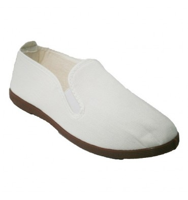 Slippers for tai chi, and yoga Kunfu Irabia in white