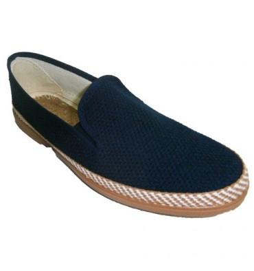 Sneaker Soca in navy blue