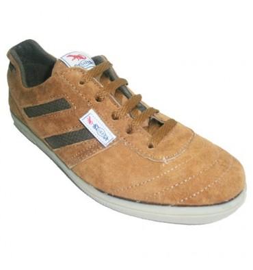 Zapatilla deportiva serraje Segarra en marrón