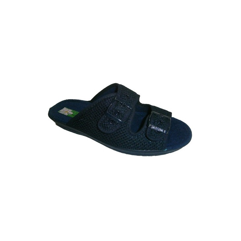 Chanclas rejilla hebillas para adaptarlas al pie Alberola en azul marino talla 38 T0aQLQ5j