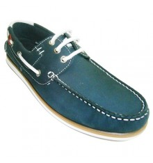Nautical thin soles laces Gioseppo in navy blue
