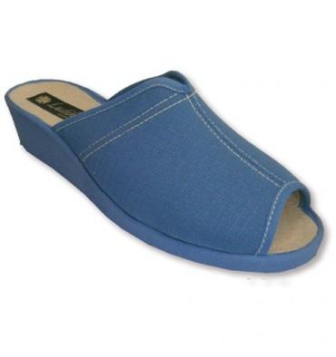 Sandálias de cunha do dedo do pé aberto e salto em Ludiher luz
