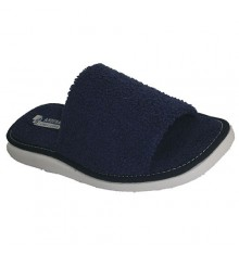 Open toe thong towel towel Andinas in navy blue
