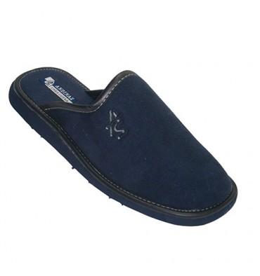 Zapatillas chanclas cerradas por la punta Andinas en azul marino