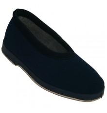 Shoe Classic scoop neck nylon or foam Soca in navy blue