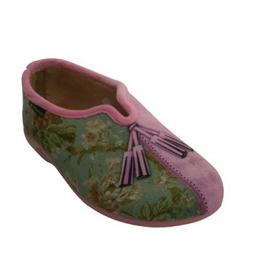 Slipper closed opening in the instep Alberola in pink