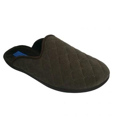 Zapatillas abiertas detrás acolchadas Alberola en kaki