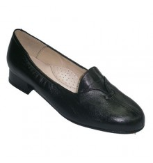 Special little wide shoes heel flap Roldán in black
