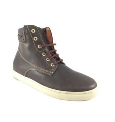 Boot midsole cane smooth man Calzados España in brown