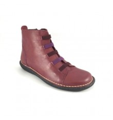 Ankle boot modern man online Calzados España in bordeaux