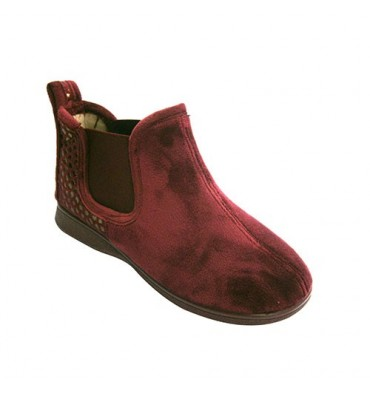 Ankle boots women be home with elastic on the sides Ludiher in bordeaux