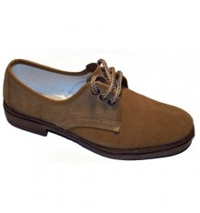 Suede shoe laces work Vulsega in Camel